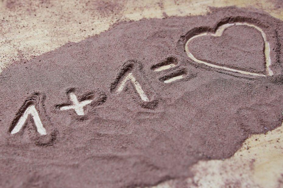 dare l'idea dell'amore in coppia