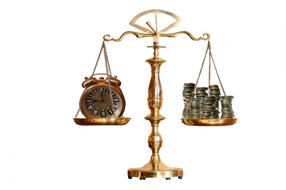 pesare il valore dei soldi rispetto al tempo che passa