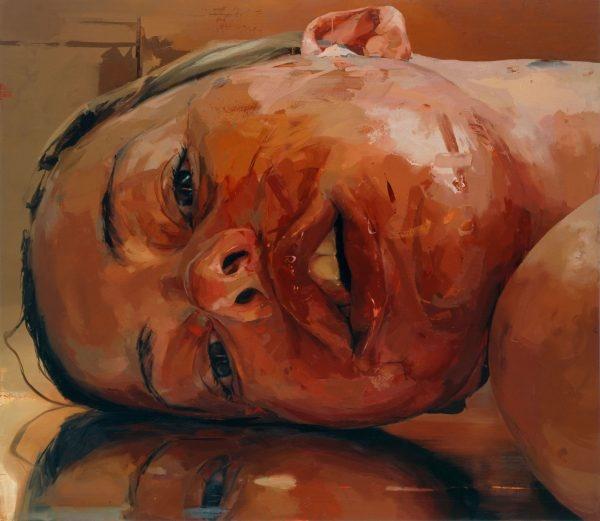 dipinto, autoritratto di Jenny Saville